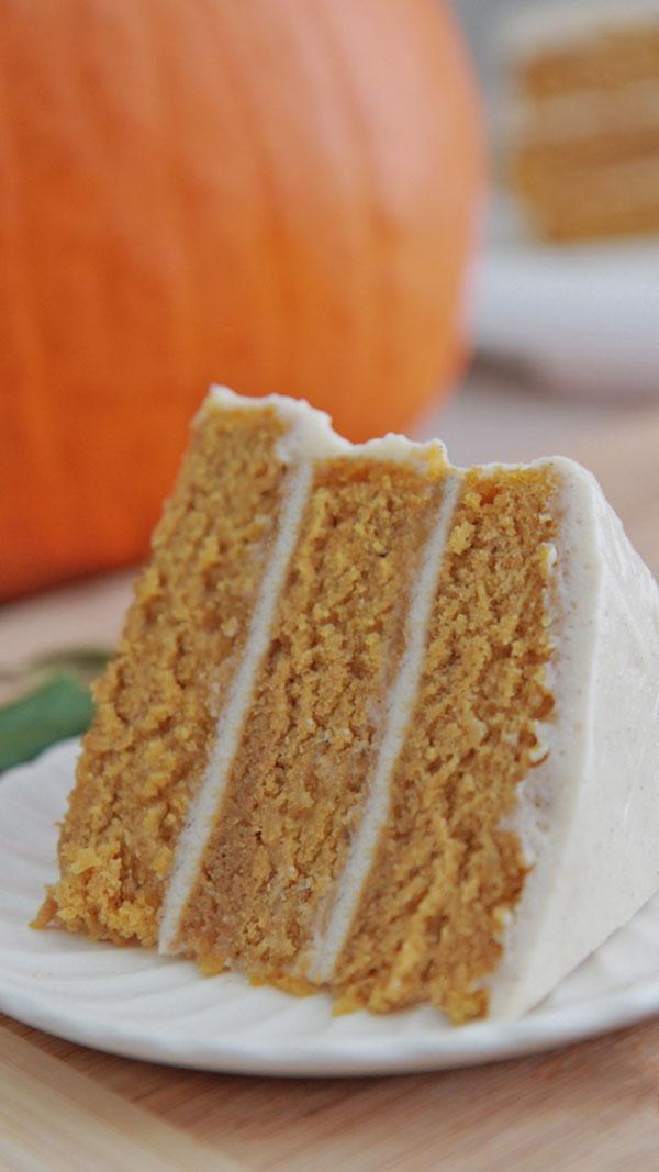 Pumpkin spice cake recipe 2