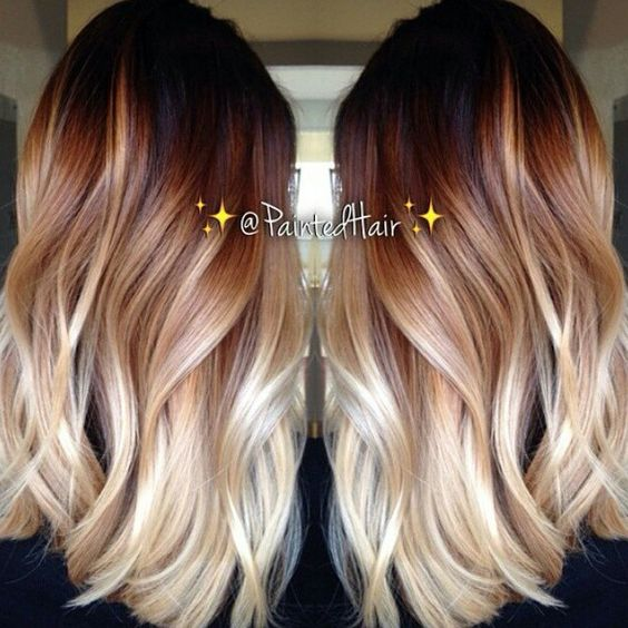 Beautiful Balayage Hairstyles - Hairstyle color blonde