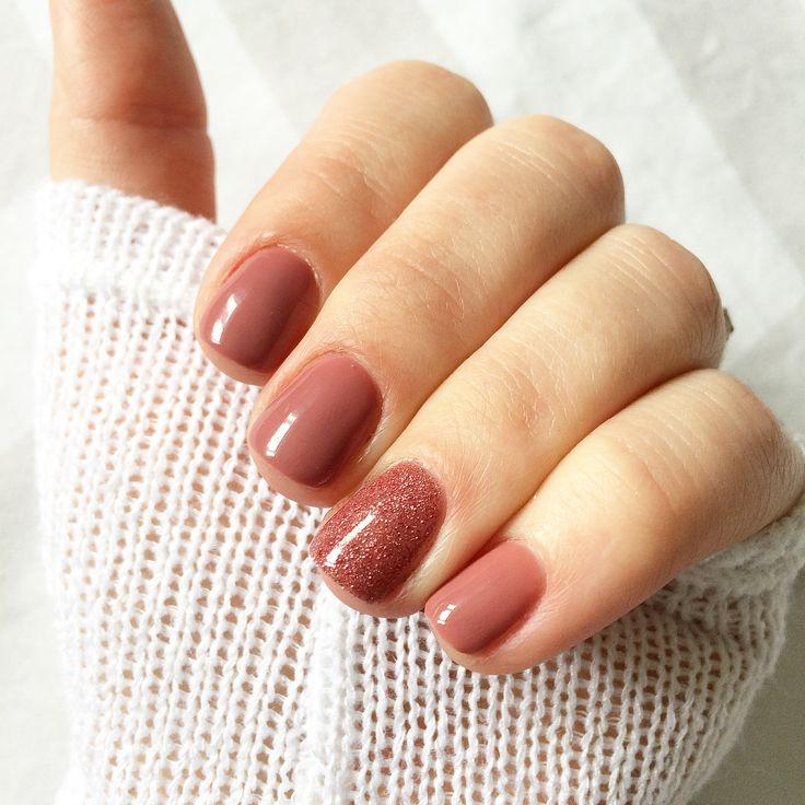 Rose nail manicure