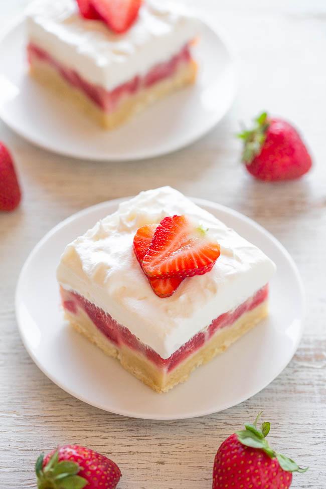 Strawberrycustardbars