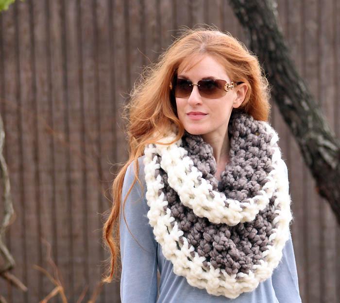 25 Crochet Infinity Scarf Tutorials