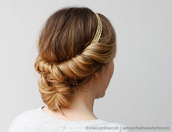 Messy Bun Ideas For All Kinds Of Occasions - Diy bun cover