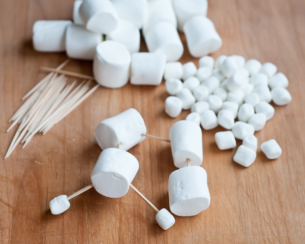 3d marshmallow sculptures