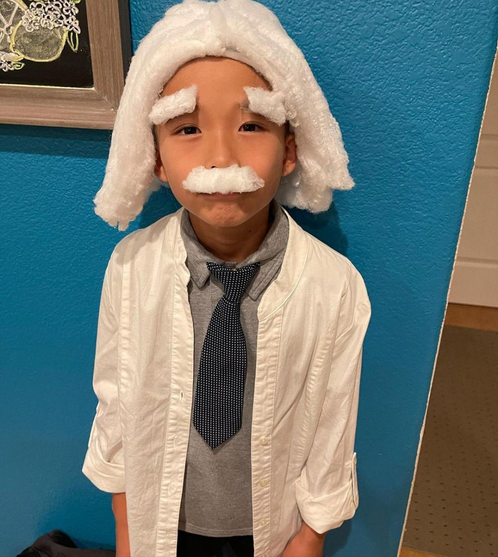 Albert einstein easy homemade halloween costumes
