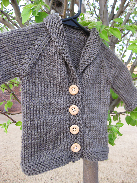 04a87e50f Baby Sophisticate cardigan by Linden Down