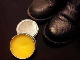 Beeswax leather polish and conditioner
