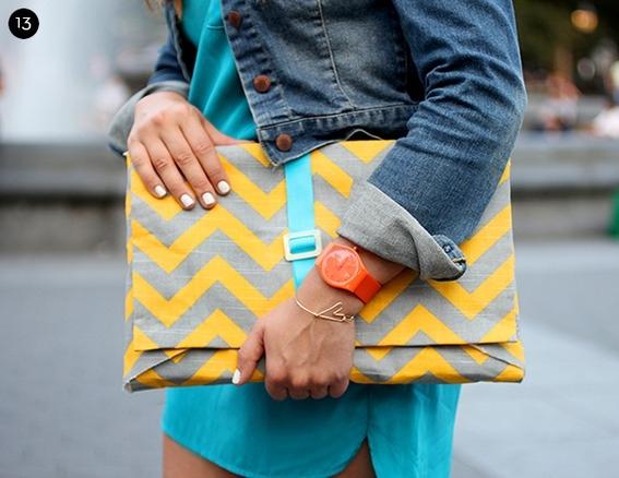 Belted envelope sleeve