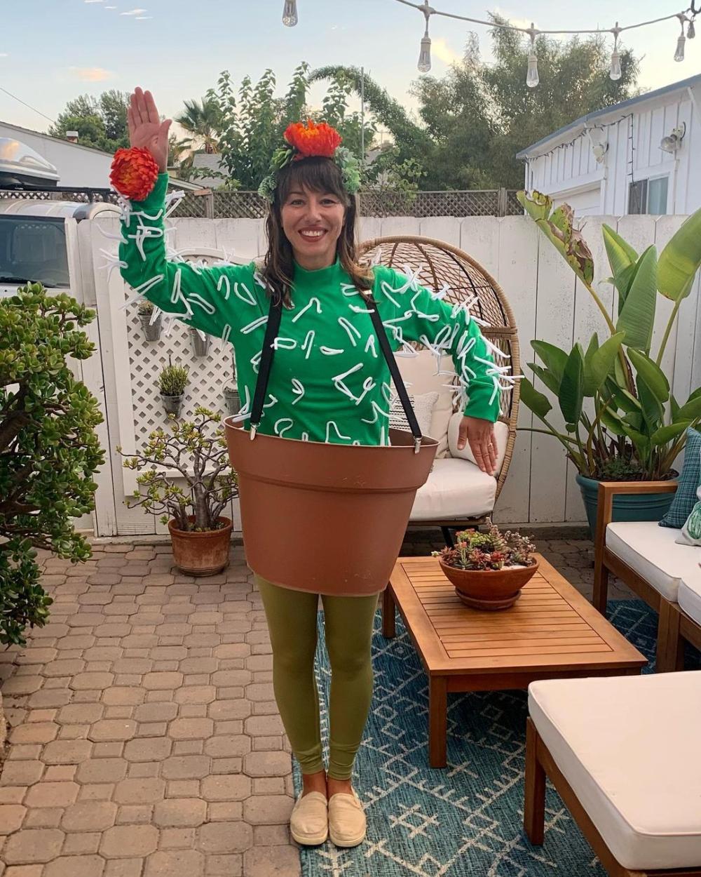 Cactus easy halloween costumes