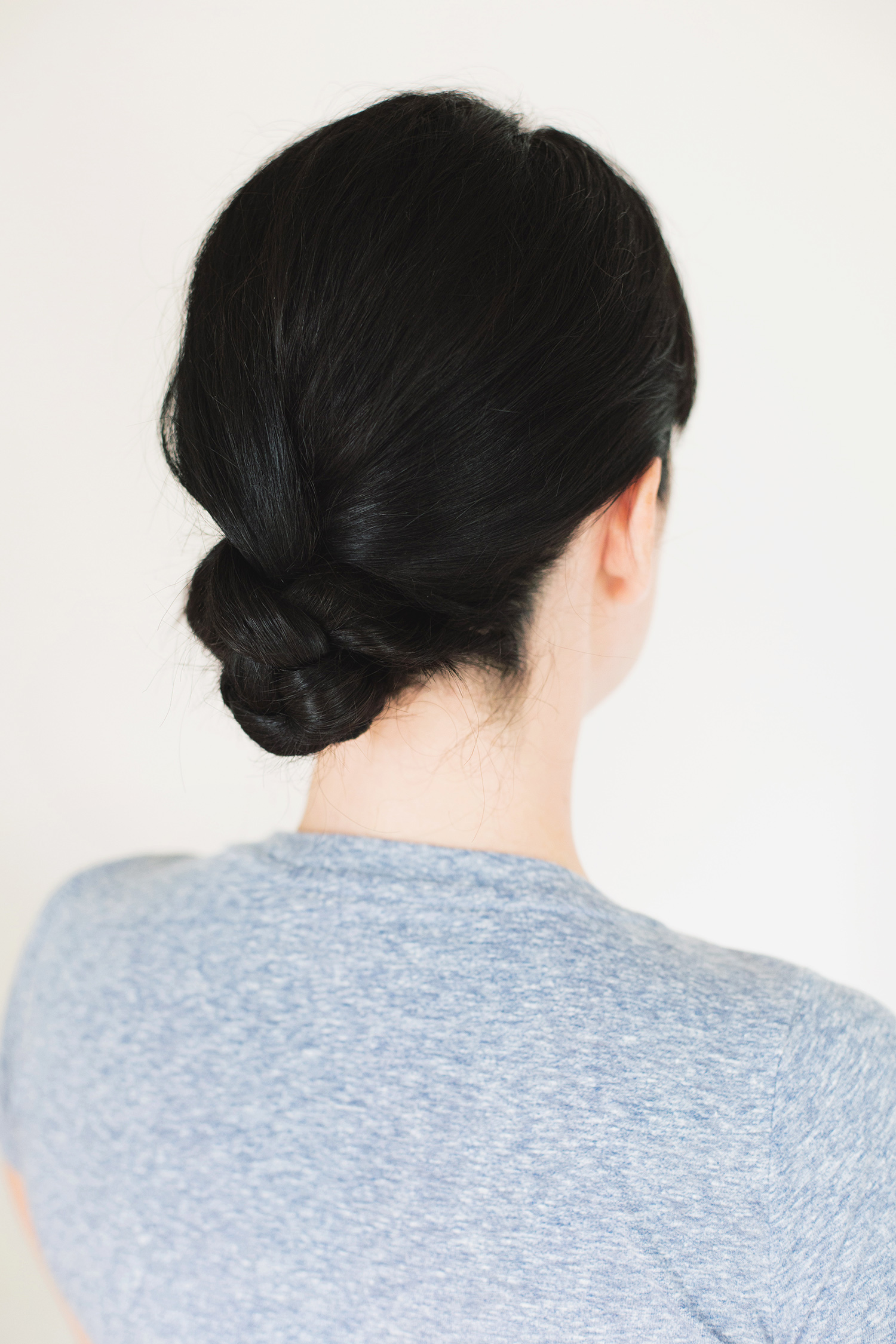 Diy 5 minute braided bun
