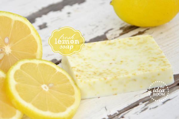 Diy fresh lemon soap
