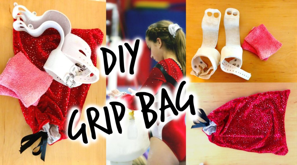 Diy gymnastics grip bag