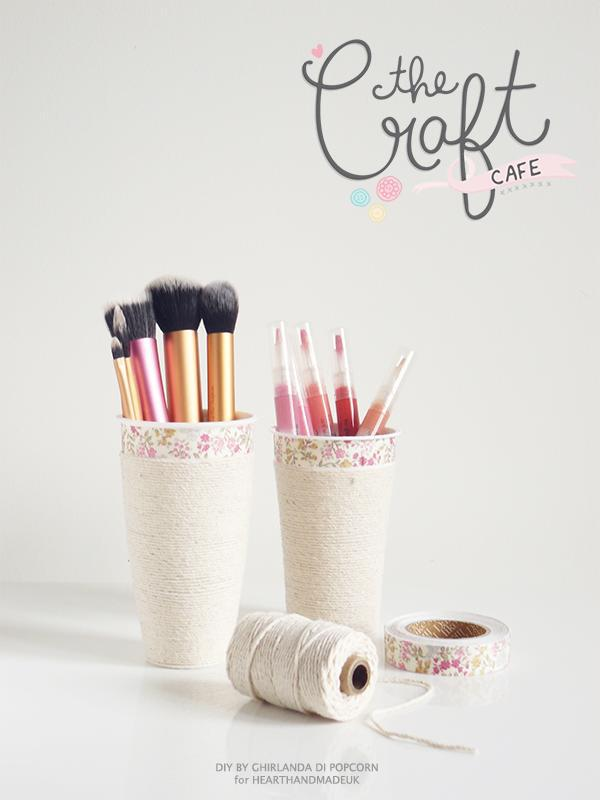 Diy make up cup 1 ghirlanda di popcorn 1