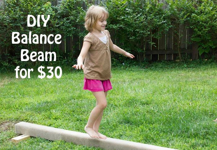 Diy practice balance beam