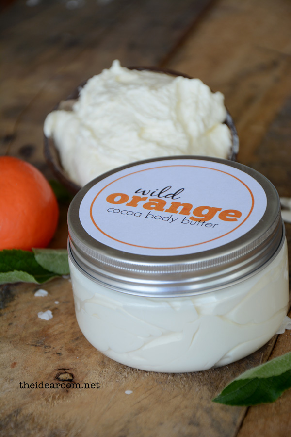Diy wild orange body butter