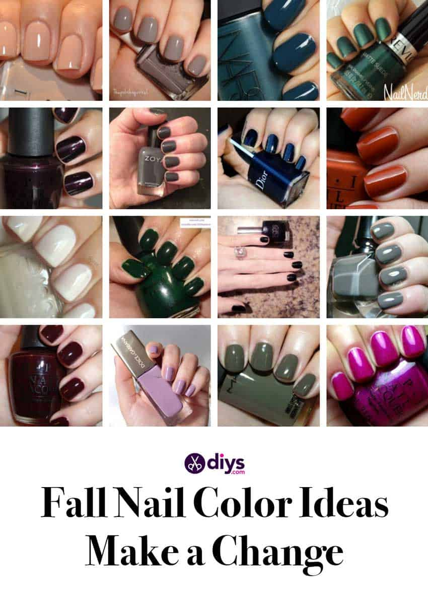 25 Best Fall Nail Colors Ideas And Prep For The Season
