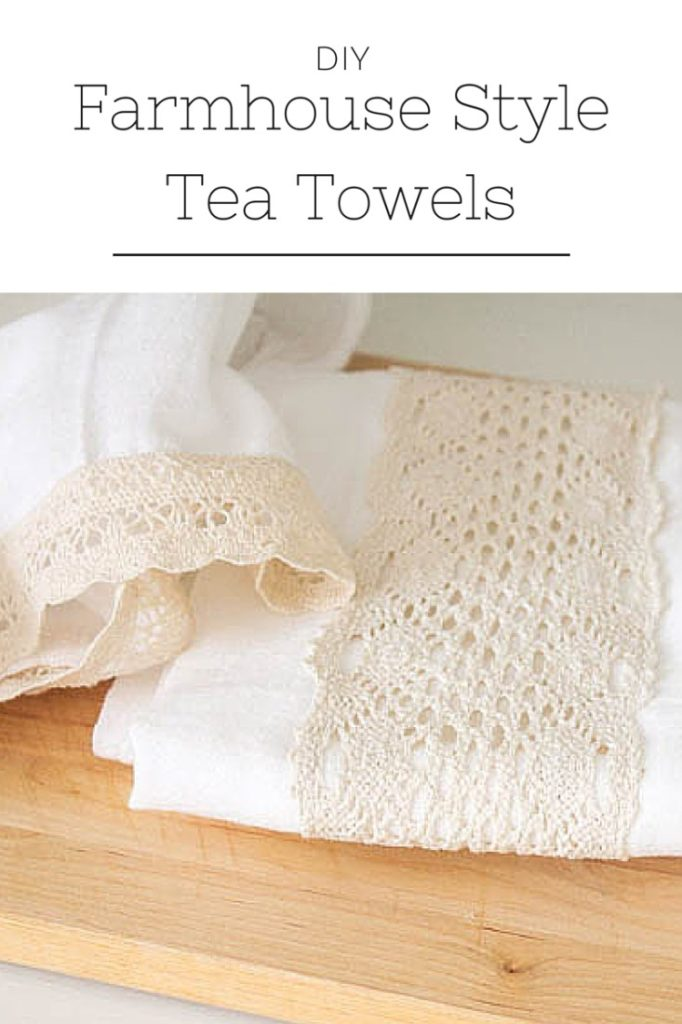Farmhouse style tea towels