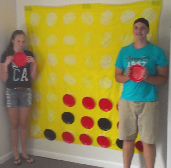 Giant wall gameboard