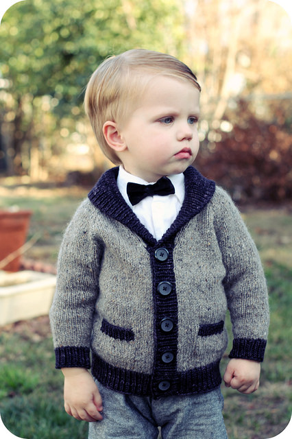 7d701cc7e1c8 Adorable Knitted Sweaters for Baby Boys