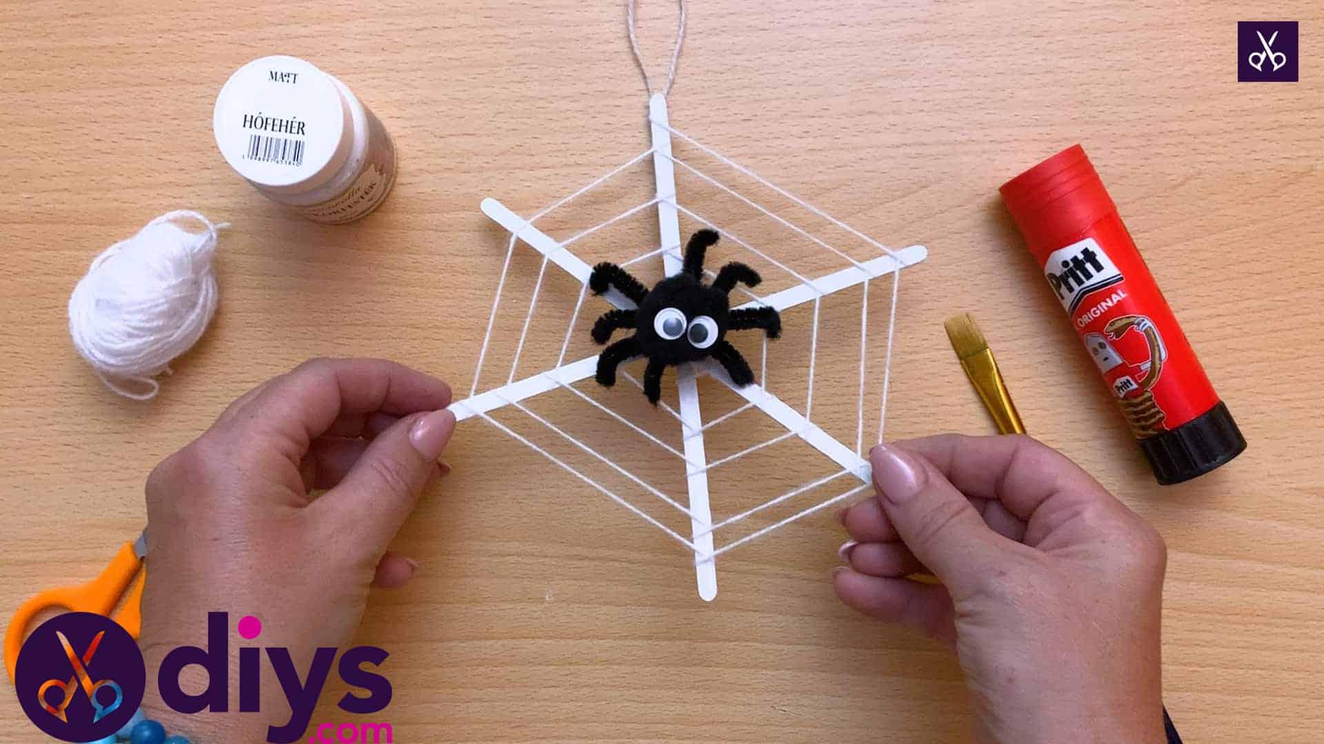 Halloween party decoration ideas spider webs