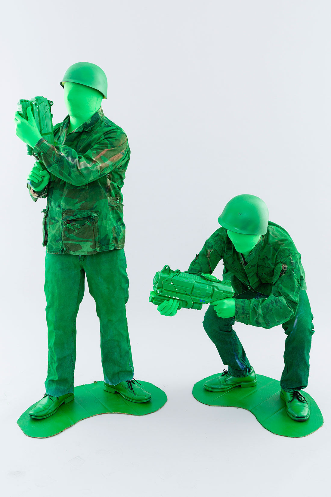 Halloween toy soldiers costumes