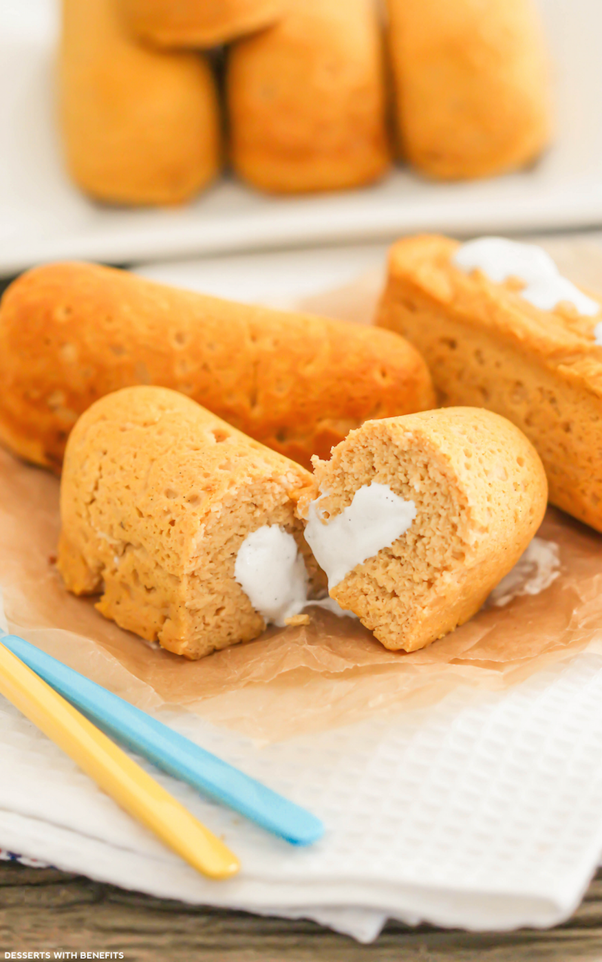 Healthy homemade twinkies