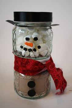 Hot chocolate kit snowman