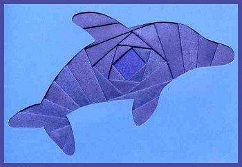 Iris folded dolphin