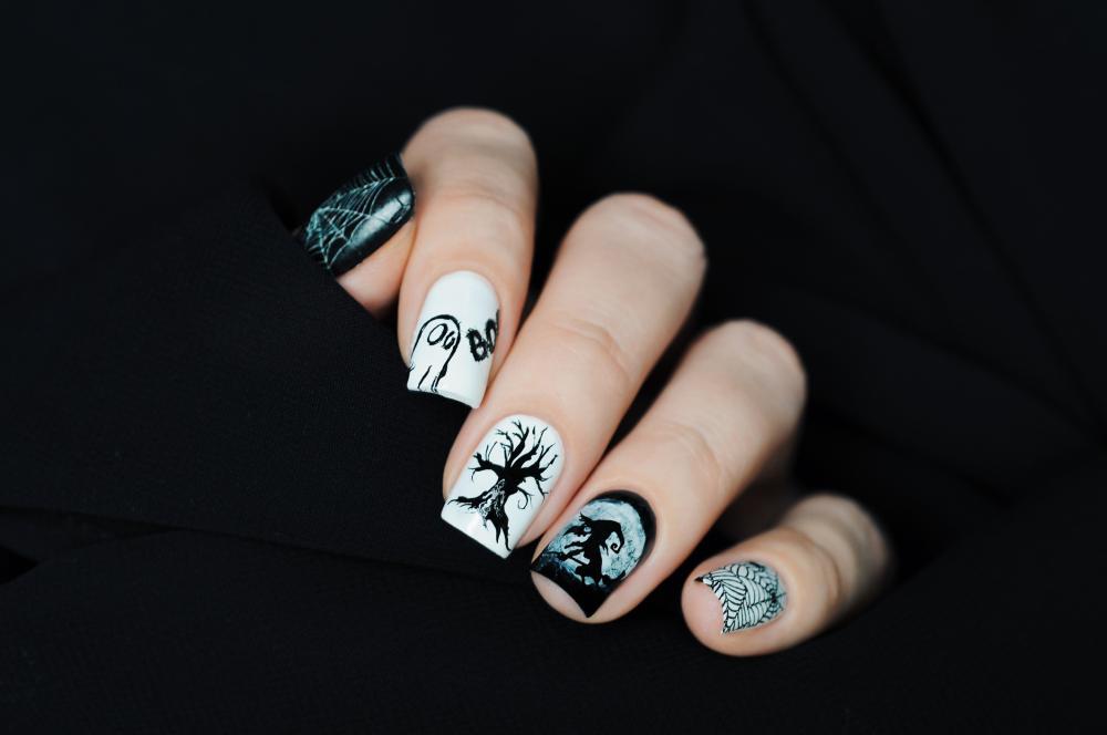 Mix & match cute nail ideas for halloween