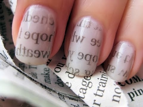 Newsprint nails