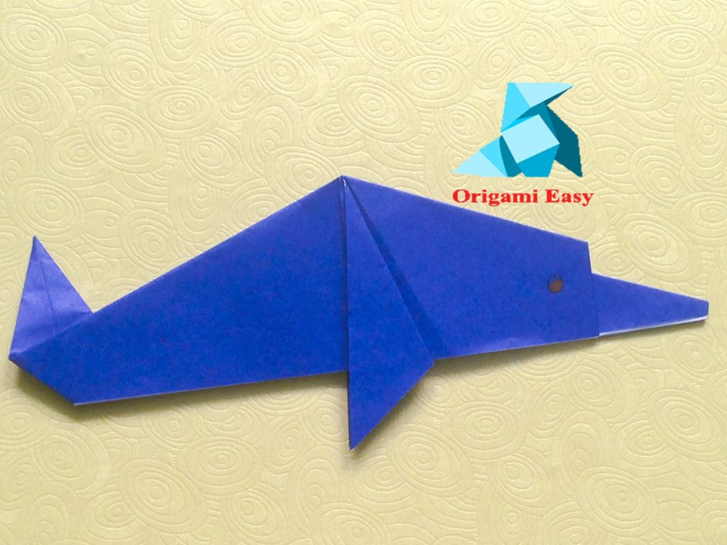15 cute crafts for dolphin lovers origami might not sound like the easiest craft in the world for little kids but youd be surprised how easily theyll be able to make some very neat things jeuxipadfo Choice Image