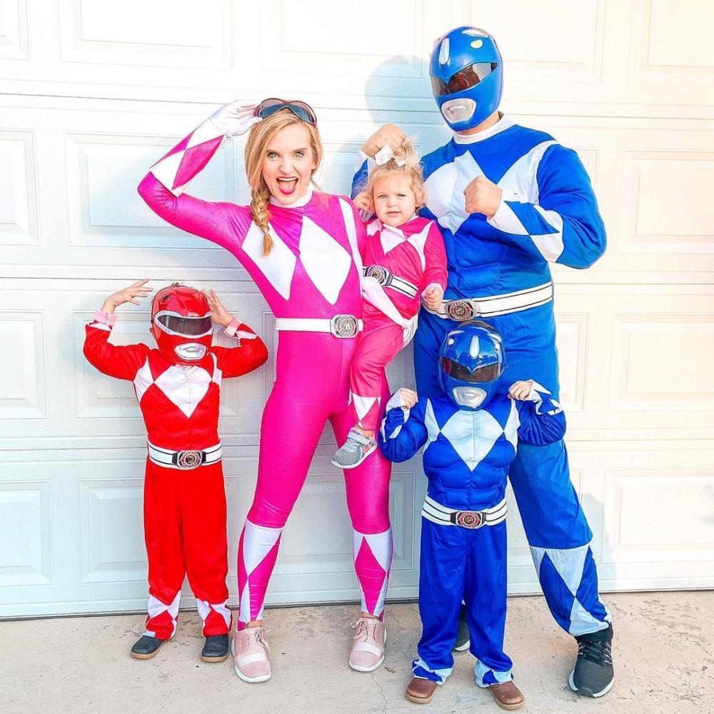 Power rangers cute easy halloween costumes