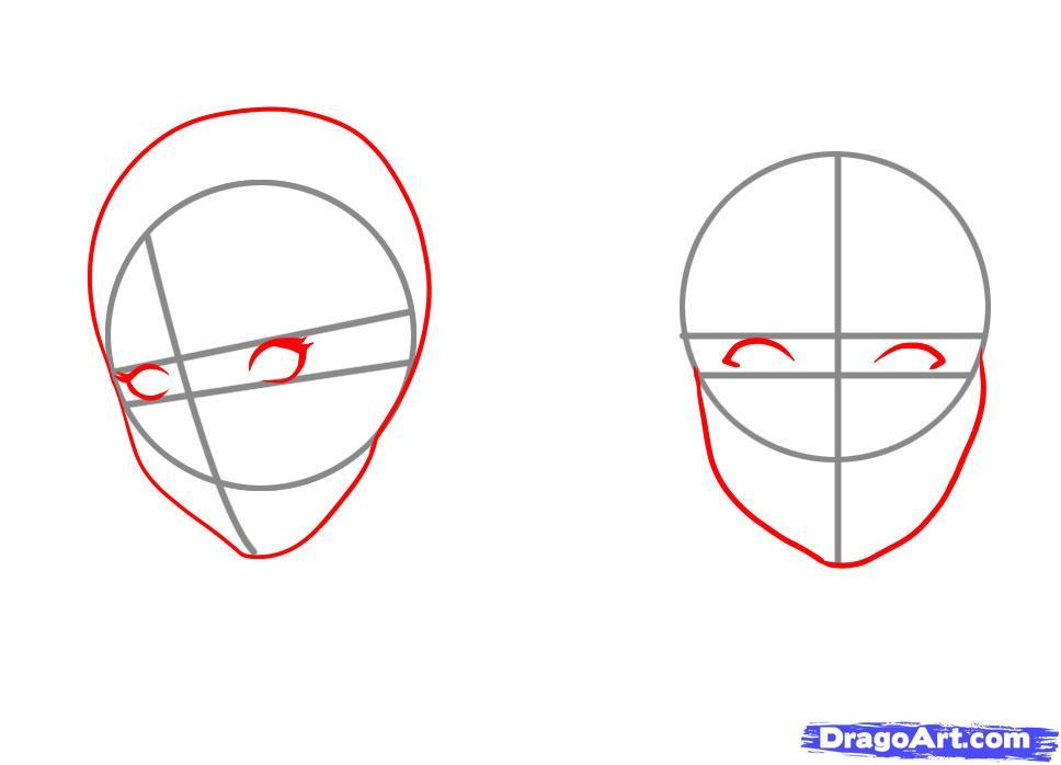Sketch a face