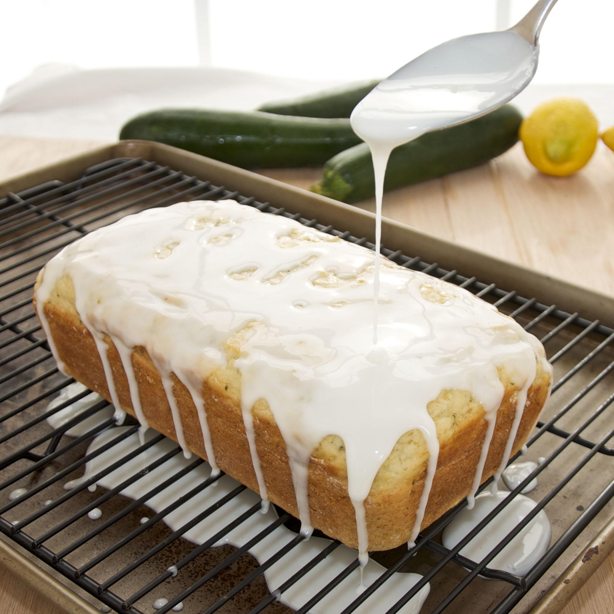 Sweet lemon glaze