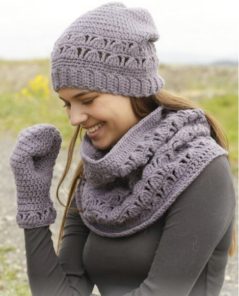 Crochet Winter Scarf Pattern Image Collections Knitting Patterns