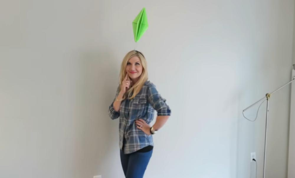 The sims character easy halloween costumes for work