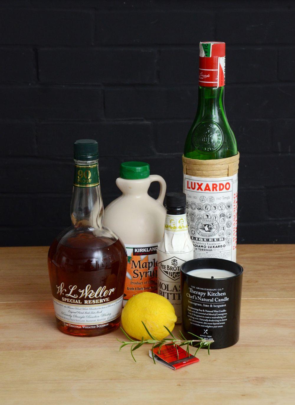 Witches brew halloween cocktail supplies