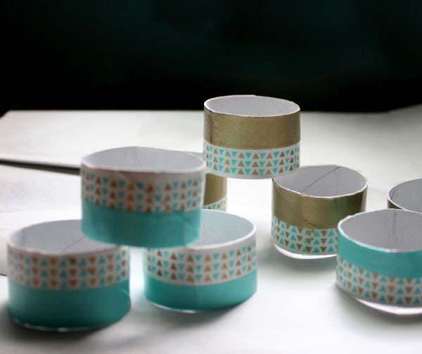Ashi tape toilet paper roll napkin rings