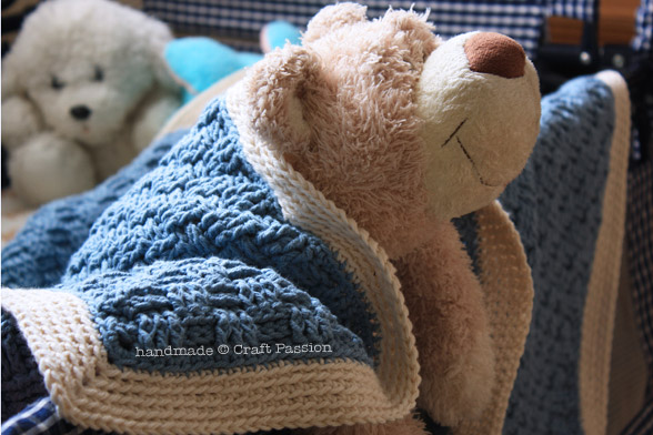 19 Crocheted Baby Blankets To Warm Up Those Little Feet