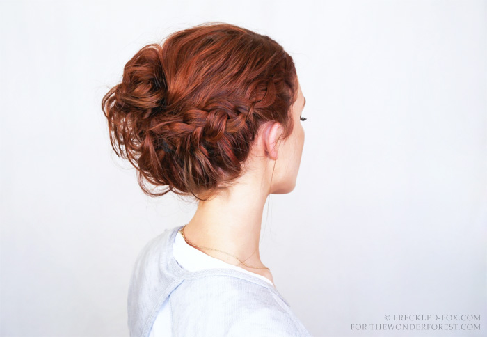 Boho hairstyle braid