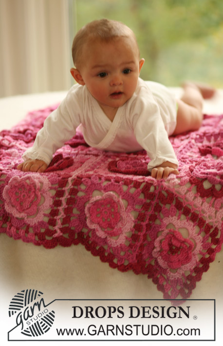 Crochet baby blanket diy