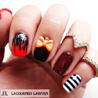 Design halloween manicure