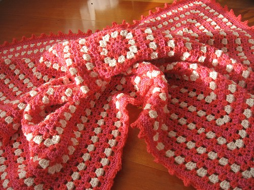 Diy baby crochet blanket