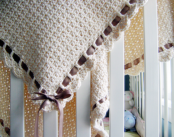 Diy crochet baby blanket