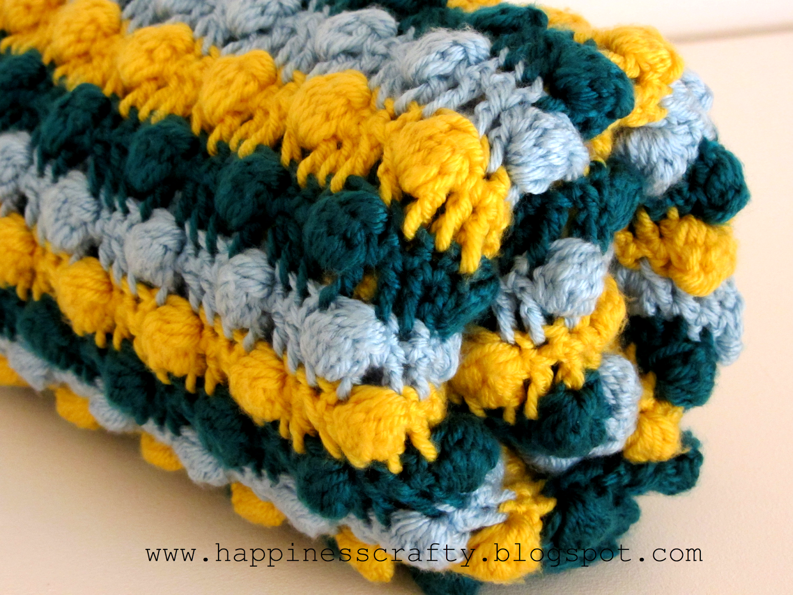 19 crocheted baby blankets to warm up those little feet bobble diy crochet blankets bankloansurffo Choice Image