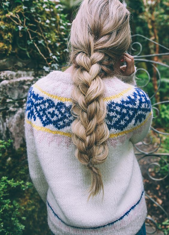 Diy double braid