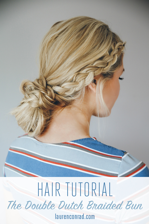 Diy double dutch braid