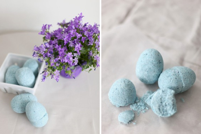 Diy egg bath bombs