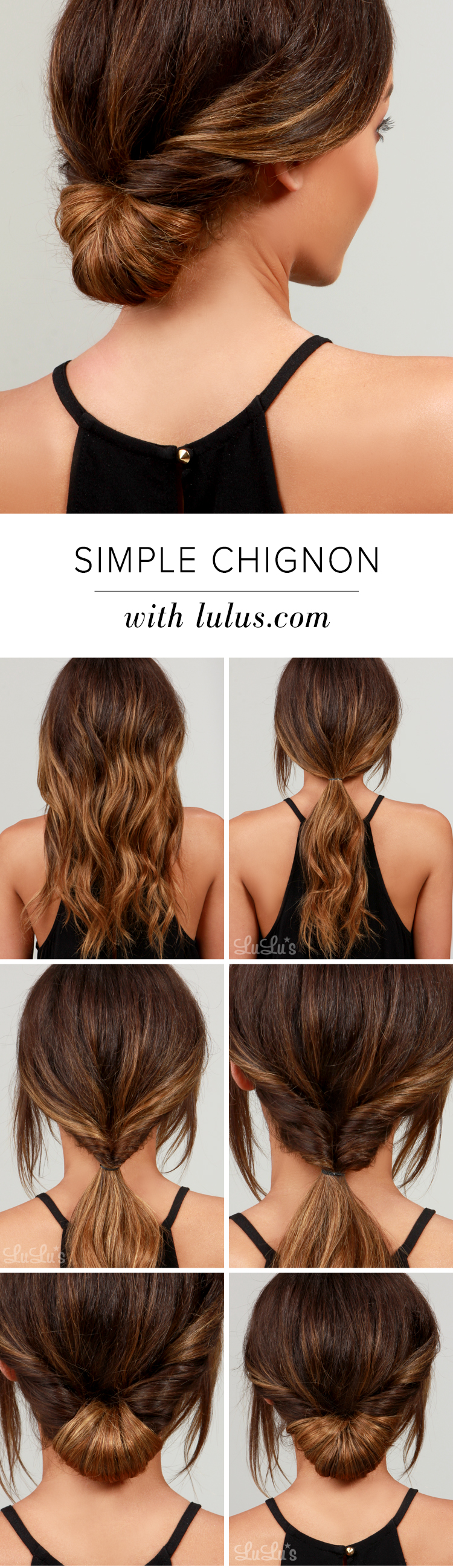 50 pretty hairstyles to experiment with at home diy simple cignon solutioingenieria Choice Image