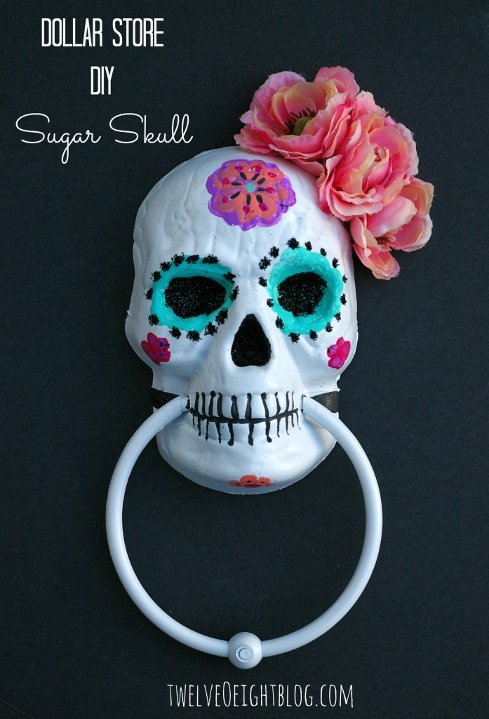 Dollar store diy sugar skull 697x1024