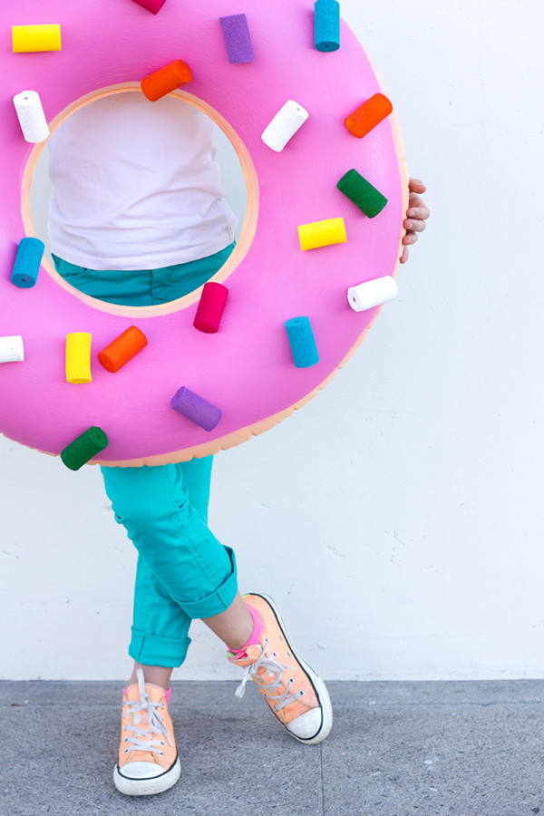 Donut diy halloween costume